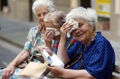Golpe de calor afecta a niños y adultos mayores