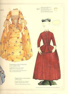 Costumes 1700's