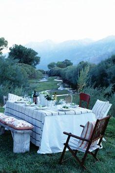 Everything Fabulous: Al Fresco Dining!
