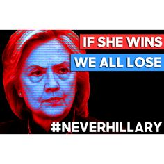 #NoToKillary #NoMoreClintons SHE'S NOT TRUSTWORTHY AND IS A CROOKED CONNIVING CORRUPT EVIL INCOMPETENT MANIPULATIVE DECEITFUL LYING CHEATING MURDERING CRIMINAL THAT SHOULD BE HELD ACCOUNTABLE FOR HER CRIMES, BUT THERES SO MUCH CORRUPTION IN WASHINGTON--THAT'S WHY WE NEED TRUMP, TO END POLITICAL CORRUPTION AND SAVE AMERICA, OUR CONSTITUTION FREEDOM VALUES AND WAY OF LIFE!!!