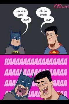 Batman n Superman Batman, comics, Funny, Superman