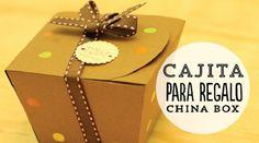 Cómo hacer una China box para regalo