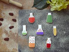Chemistry Flasks Cookie Cutter Set
