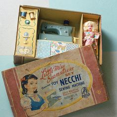 1940s Hasbro Little Miss Seamstress Set