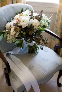 Lush Southern Winter Bride's Bouquet, Photography by Christen Jones, Styling by Bella Baxter Events, Floral by DeClerk Wray Events