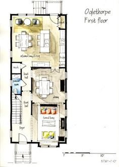 Real Estate Color Floor Plan and Elevation 2 on Behance