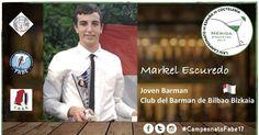 Markel Escudero se proclama subcampeón de España de coctelería de jóvenes barmans
