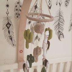 eymayshop shared a new photo on Etsy Totoro Nursery, Whale Nursery, Nursery Crib, Elephant Nursery, Baby Elephant, Baby Mobile Felt, Felt Baby, Cactus Rock, Nursery Themes