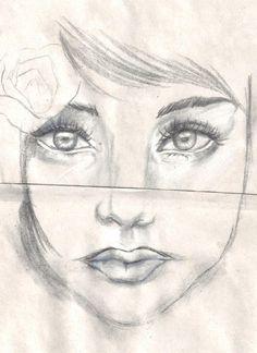 Miradas...    dibujo hecho por Lucas Nuñez Saavedra