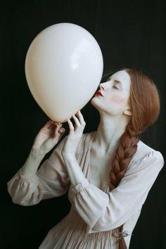 "Photo: Monia Merlo Photographer Model: Giulia Beltrame ""feels like my head is full of air""  Follow us on https://www.facebook.com/imaginarium.net and www.theimaginarium.it"