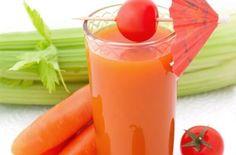 Karottensmoothie für eine gute Verdauung