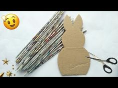 Newspaper craft   best out of waste craft idea   recycle newspaper   #HMA431 - YouTube Recycle Newspaper, Newspaper Basket, Newspaper Crafts, Recycled Magazine Crafts, Recycled Crafts, Diy For Kids, Crafts For Kids, Egg Carton Crafts, Easter Egg Crafts