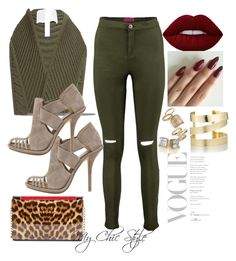 """""""Hunter"""" by mychicstyle1 on Polyvore featuring Jonathan Simkhai, Balenciaga, Christian Louboutin, Lime Crime, Étoile Isabel Marant, Topshop, ootd, women and Polyvoreoutfits"""