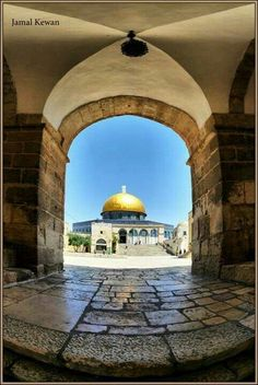 The Rock of Dome - Palestine