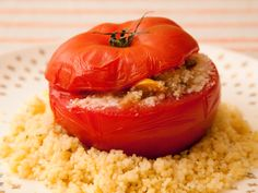 Tomates Farcies recipe from French Kids Eat Everything cookbook