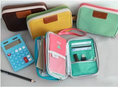 Bankbook Pocket Card Case Passport package Wallet Money Plan Double Pouch-in Wallets from Luggage & Bags on Aliexpress.com