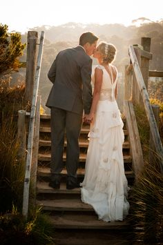 Kirsty & Rupert's Moroccan-themed beach wedding in Lorne, Vic