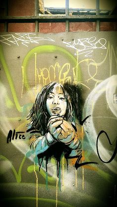 Alice Pasquini - Rome (IT) by AliCè, via Flickr