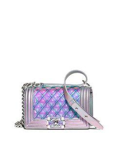 Chanel Iridescent Small Boy Chanel Handbag #ad