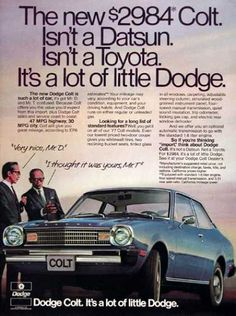 Dodge Colt Coupe (1977)