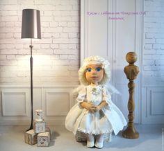 Купить Ангелочек текстильная коллекционная, интерьерная кукла - куколка, текстильная игрушка, текстильная кукла, проволока