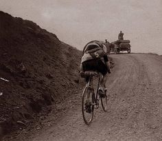 Tour de France, 1921. Col du Galibier