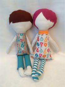 Steph Zerbe Design: Build-a-Rag Doll: How To