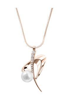 Annie RAM Kette, Anhänger Space Pearl, Swarovski® crystals gold Jetzt bestellen unter: https://mode.ladendirekt.de/damen/schmuck/halsketten/goldketten/?uid=0546ecda-cd40-5a62-8152-54f5af66336b&utm_source=pinterest&utm_medium=pin&utm_campaign=boards #goldketten #schmuck #halsketten #bekleidung Bild Quelle: brands4friends.de