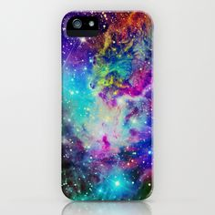 Fox Fur Nebula iPhone Case