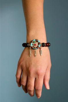 Dream Catcher Beaded Bracelet