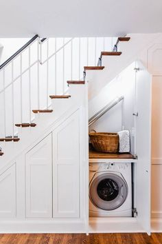 40 best sub-stair storage ideas for your small space sub-stair storage ideas . 40 Best Under Stairs Storage Ideas for Your Small Space Understairs Storage Ideas Small Space stairs storage, Storage Under Staircase, Hallway Storage, Laundry Room Storage, Laundry Room Design, Under Staircase Ideas, Attic Storage, Closet Storage, Storage Organization, Kitchen Under Stairs