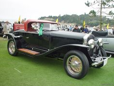 1927 Isotta-Fraschini Tipo 8A Fleetwood Roadster.