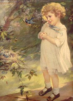 Kai Fine Art is an art website, shows painting and illustration works all over the world. Images Vintage, Vintage Artwork, Vintage Pictures, Vintage Postcards, Vintage Prints, Vintage Cards, Art And Illustration, Illustration Children, Creation Image