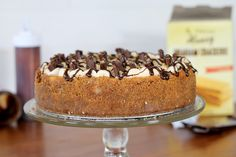 S'mores Cheesecake | Bakerita.com