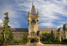 iasi palace of culture Romania, Big Ben, Palace, Places To Visit, Culture, Building, Travel, Image, Art