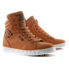 Casual Men's Boots With Buckle and Rivets Design (BROWN,44)   Sammydress.com Mobile