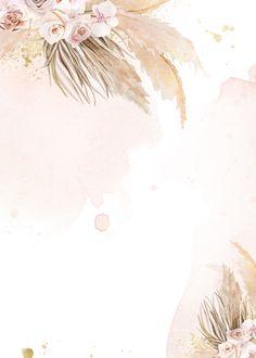 Photo Frame Wallpaper, Floral Wallpaper Phone, Gold Wallpaper Background, Phone Wallpaper Design, Phone Wallpaper Images, Framed Wallpaper, Wallpaper Backgrounds, Pastel Background, Flower Graphic Design