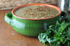 Kale and White Bean Soup- Dr. Junger Clean Cleanse approved