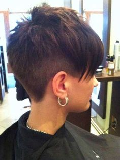 11. Undercuts Pixie Cuts for Badass Women                                                                                                                                                                                 More