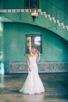 Nikole Powers wearing Rosa Clara Bridal