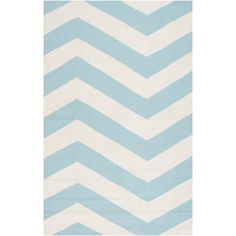 @Overstock.com - Handwoven SkyChevron Aqua Wool Rug (9' x 13') - This flatweave rug is handwoven in India from 100-percent wool. The modern geometric pattern and bold color will add interest and style to any room.  http://www.overstock.com/Home-Garden/Handwoven-SkyChevron-Aqua-Wool-Rug-9-x-13/7639046/product.html?CID=214117 $621.99