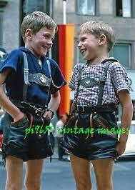 Bildergebnis für vintage  lederhosen
