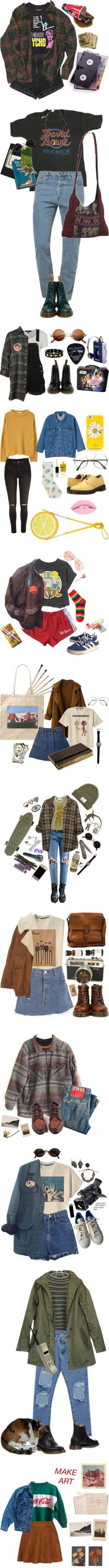 Please by kickflippindoge on Polyvore featuring 21 Men, Zimmermann, American Apparel, Dr. Martens, Moleskine, Jessica de Lotz Jewellery, Topshop, Episode, Floyd and grunge