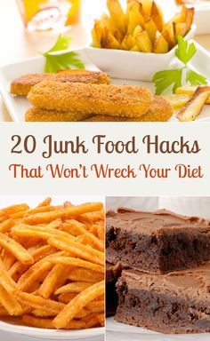 20 Junk Food Hacks That Won't Wreck Your Diet Dr. Reggie Broom & Dr. Stacey Carter Pediatric Dentistry | #Gulfport  #OceanSprings | #MS | http://www.drbroom.com/