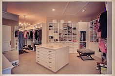 I will need a closet this big or bigger when I'm older