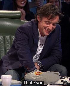 Top Gear/ Richard Hammond (he's really attractive but he also looks like this kid I've known forever that I consider a little brother just grown up and I've got this internal conflict over this)