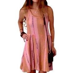 Free People — Knit Tunic Worn once. Great condition. ⇝ All offers will be considered! Free People Dresses