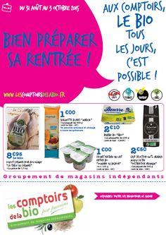 Aux Comptoirs, Le Bio Tous les Jours c'est Possible ! http://www.lescomptoirsdelabio.fr