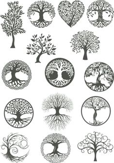 Vector ornament, decorative Celtic tree of life Ve. - Vector ornament, decorative Celtic tree of life Vector,tree digital file,tree dx… Vector ornamen - Tattoo Life, Tree Of Life Tattoos, Karma Tattoo, Vector Trees, Vector Art, Vector File, Body Art Tattoos, Tattoo Drawings, Muster Tattoos