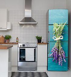Αυτοκόλλητα ψυγείου - Λεβάντα